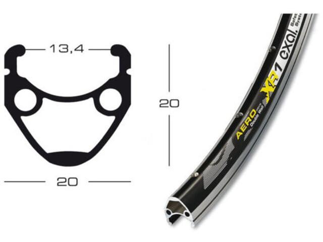 Exal XR-1 - 13-622 Tiagra QR noir